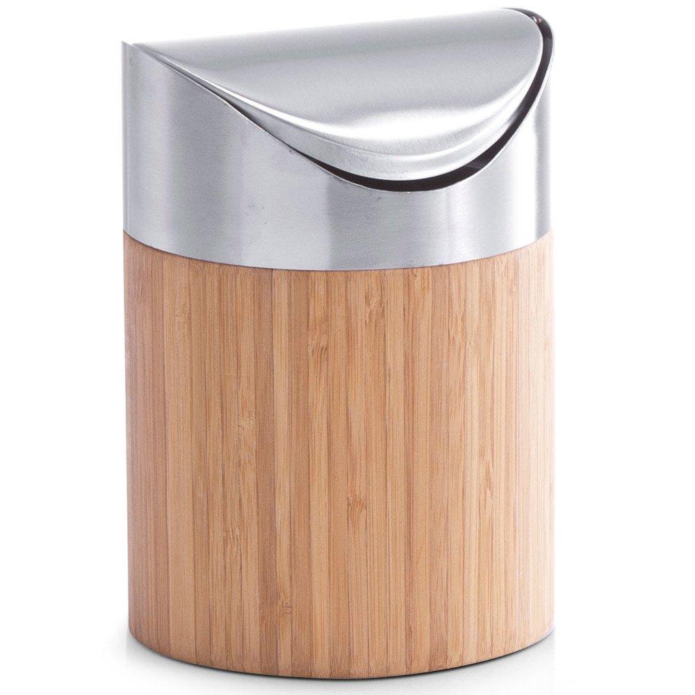 Kosz łazienkowy Mini Bamboo Pojemnik Na śmieci Zeller