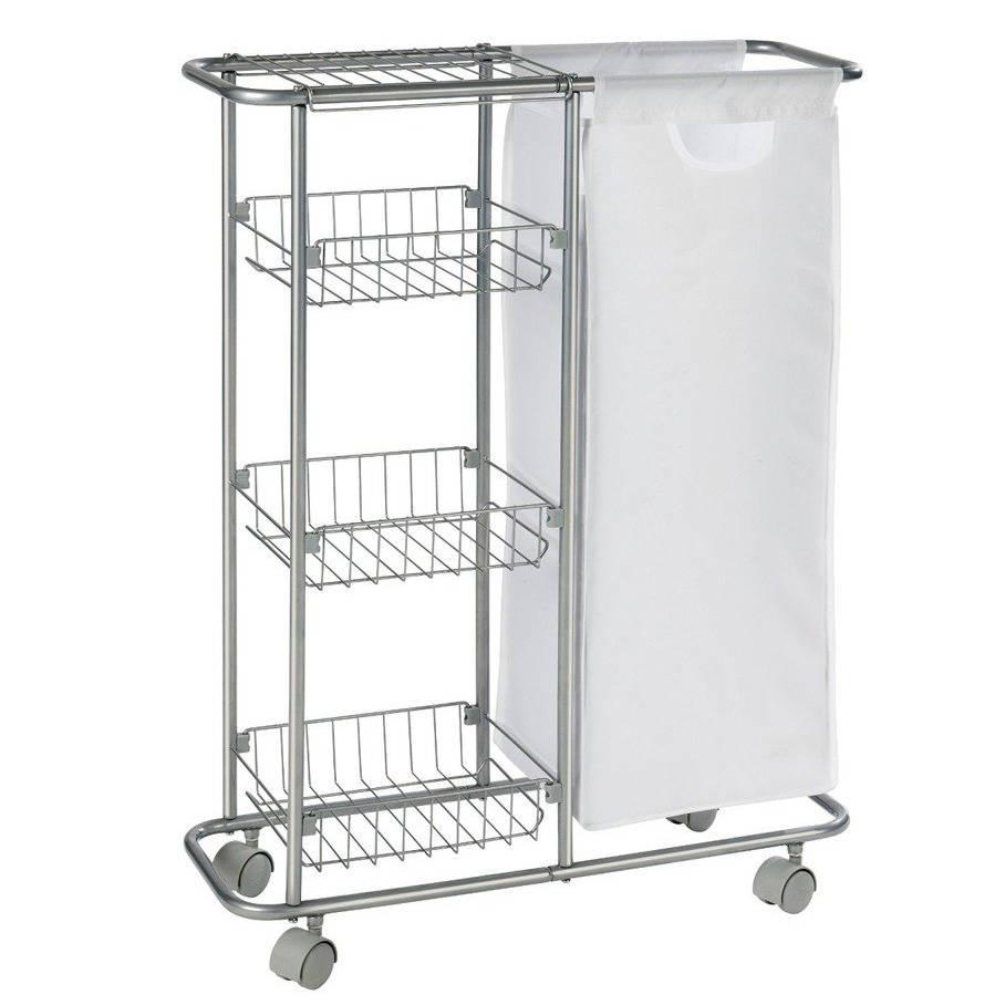 Wielofunkcyjny Wózek Slim Regał Kuchenny łazienkowy